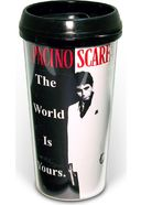 Scarface - Movie Poster 16 oz. Plastic Travel Mug