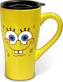 Sponge Bob - 18 oz. Ceramic Travel Mug with Lid