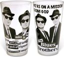 The Blues Brothers - 2-Piece 16 oz. Clear Pub