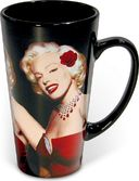 Marilyn Monroe - With Rose: Tall Latte 16 oz.