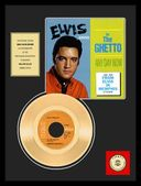 "Elvis Presley - In The Ghetto - Framed 12""x16"""