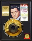 "Elvis Presley - Return To Sender - Framed 12"" x"