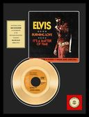 "Elvis Presley - Burning Love - Framed 12"" x 16"""