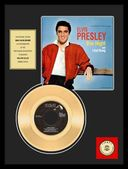 "Elvis Presley - One Night - Framed 12"" x 16"" Gold"