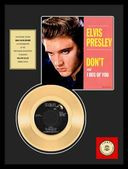 "Elvis Presley - Don't - Framed 12"" x 16"" Gold"