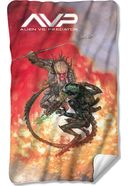 Alien Vs Predator - Brutal Battle Fleece Blanket