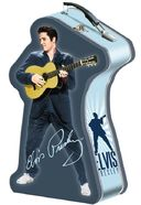 Elvis Presley - Shaped Tin Tote