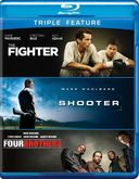 The Fighter / Shooter / Four Brothers (Blu-ray)