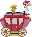 Hanna Barbera - Quick Draw McGraw on Carriage -