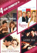 4 Film Favorites: Romance Collection (Music and