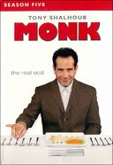 Monk - Season 5 (4-DVD)