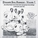 Dynamite Soul Harmony, Volume 1 [German Import]