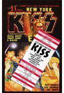 KISS - Convention Guide & Ticket: 21st Annual New