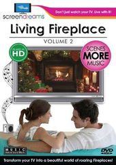 Screen Dreams: Living Fireplace, Volume 2