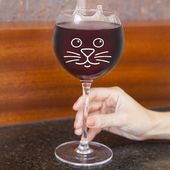 Purrfect - Cat Wine Glass