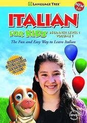 Italian for Kids - Beginner Level 1, Volume 1