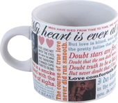 Shakespearean Love - 12 oz. Ceramic Mug
