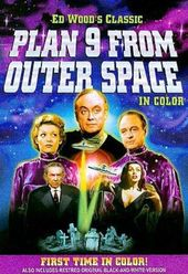 Plan 9 from Outer Space (Colorized and B&W