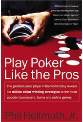 Card Games/General: Play Poker Like the Pros