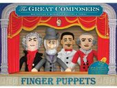 The Great Composers Finger Puppet Set