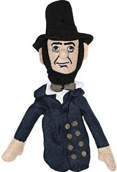 Abe Lincoln - Magnetic Finger Puppet