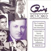 Bix Restored, Volume 5