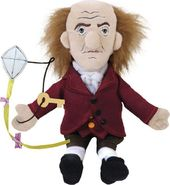 Benjamin Franklin - Little Thinker Plush Doll