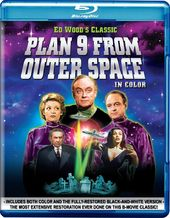 Plan 9 from Outer Space (Blu-ray, Color, Black &