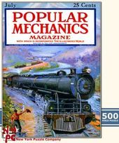 Popular Mechanics - Mountain Train Puzzle