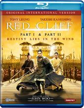Red Cliff, Part I / Red Cliff, Part II (Blu-ray,