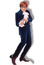 Austin Powers - Blue Suit - Life-Size Standup