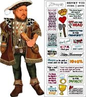 Henry VIII - Greeting Card