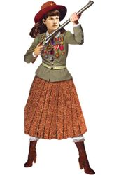Annie Oakley - Greeting Card