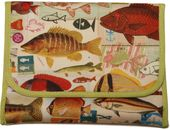 Fish Foldover Pouch - Bag