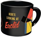 Funny - Math - Here's Looking at Euclid 14 oz.