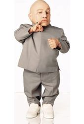 Austin Powers - Mini Me - Life Size Stand Up 2'