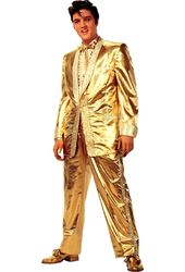 Elvis Presley - Gold Lame Suit - Life Size