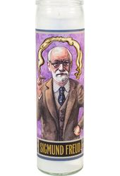 Sigmund Freud - Secular Saint Candle