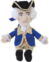 George Washington - Little Thinker Plush Doll