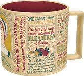 Jane Austen - Literary Mug - 16 oz. Ceramic Mug