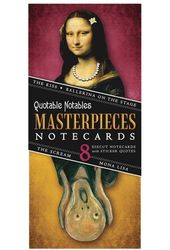 Quotable Notables - Masterpieces Notecards (Pack