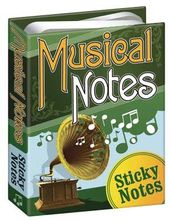 Sticky Notes - Musical Notes