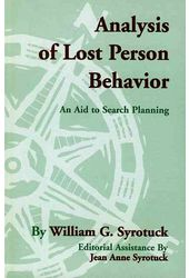 Analysis of Lost Person Behavior: An Aid to
