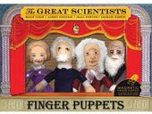 The Great Scientists - 4-Piece Finger Puppet Set