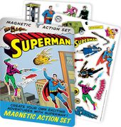 DC Comics - Superman - Magnetic Action Set