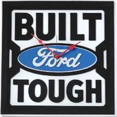 Built Ford Tough - 3D Foam Wall Clock