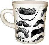 Mustaches - Great Moustaches - 12 oz. Ceramic Mug