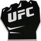 UFC - Black Fist Logo 3D Foam Magnet