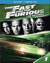 The Fast and the Furious (Blu-ray, Includes