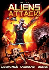 Aliens Attack: Bad Channels / Laserblast /
